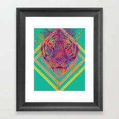Tiger Bright Framed Art Print