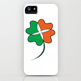 Irish Clover iPhone Case