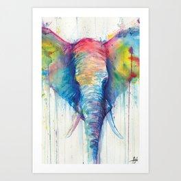 Caeli Art Print