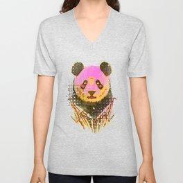 Dandy panda Unisex V-Neck
