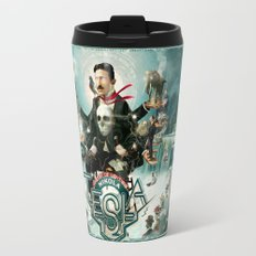 Nikola Tesla Master of Lightning Travel Mug