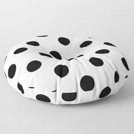 Polkadot (Black & White Pattern) Floor Pillow