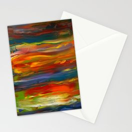 Color Mist Stationery Cards