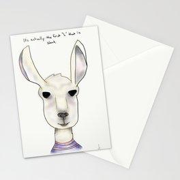 robert llama Stationery Cards