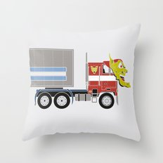 Robot's Wrong Disguise Throw Pillow