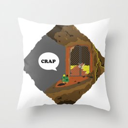 CRAP Throw Pillow
