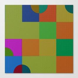 b 1 1 1 - b 0 0 0 Canvas Print