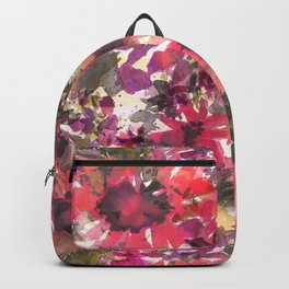 Ruby Red Sunflowers Backpack
