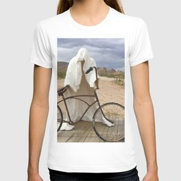 Ghost with bike T-shirt
