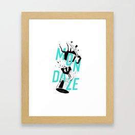 Mondaze II Framed Art Print