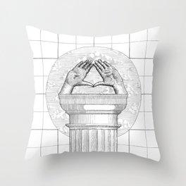 Pediment Throw Pillow