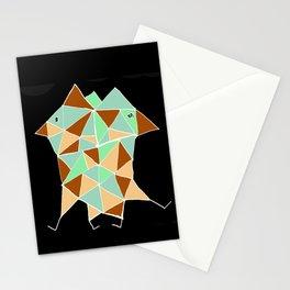 minimal art with birds Stationery Cards