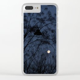 Escaped light Clear iPhone Case