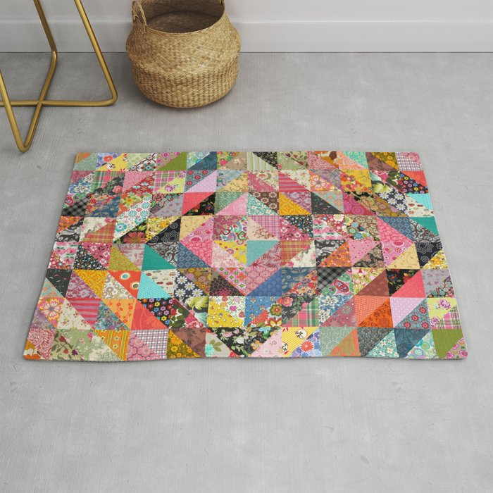Grandma S Quilt Rug By Thirstyfly