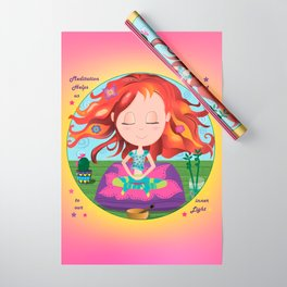 Meditation Om Zen Wrapping Paper