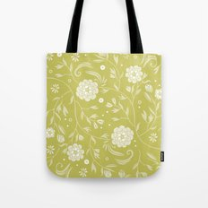 Sunny floral pattern Tote Bag