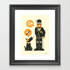 Obey ... Framed Art Print