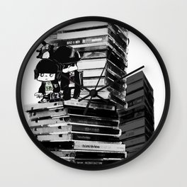 music in my mind Wall Clock
