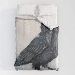 El ve a través del cuervo y controla la niebla Comforters