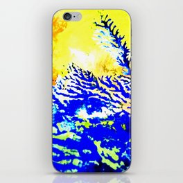 Coral iPhone Skin
