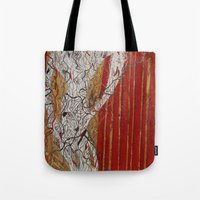 theater Tote Bags featuring The Theater by Atziri