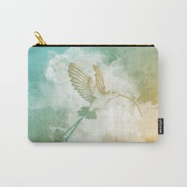 Colorful little bird Carry-All Pouch