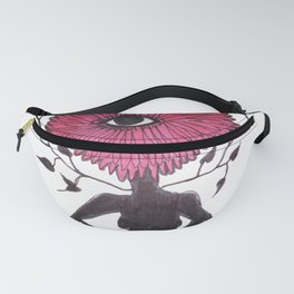 Divine Flower Woman Fanny Pack