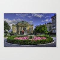 theater Canvas Prints featuring Theater by Siniša Biljan