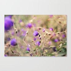 Purple Past Canvas Print