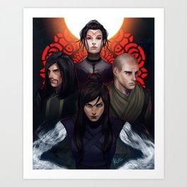 Avatar Villains Art Print