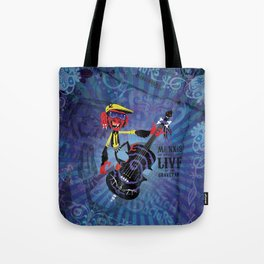 Münxis - Bass. The Twitch Doctors. Tote Bag