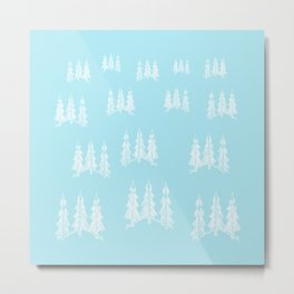New year forest Metal Print