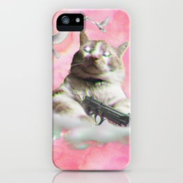 mi$hka the tra$hkat iPhone Case