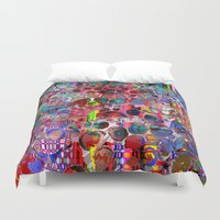 wooden Duvet Covers featuring wooden highlands by donphil