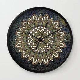 Lacy Mandala Wall Clock