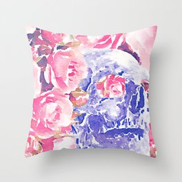 death, where is thy sting? Throw Pillow