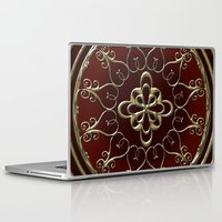 nemo Laptop & iPad Skins featuring Golden Treasure of Nemo by Britta Glodde
