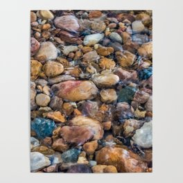 Moana Pebble Texture Poster