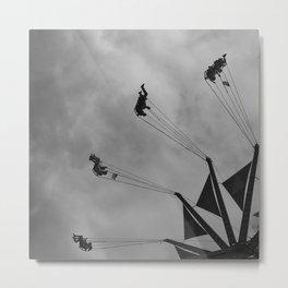 Swing to the Sky Metal Print