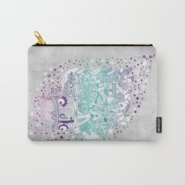 Glam fashion owls Carry-All Pouch