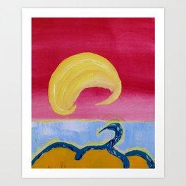 Bangburd Bay Art Print