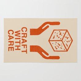 Craft With Care (Orange) Rug