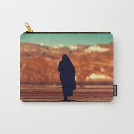 Moroccan lady silhouette #society6 #decor #buyart Carry-All Pouch