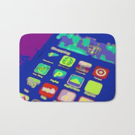 It's an App World Bath Mat