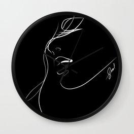 closely.b Wall Clock