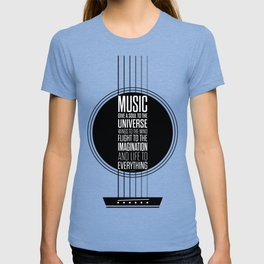Lab No. 4 - Plato philosopher Inspirational Music Quotes  poster T-shirt