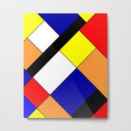Mondrian #18 Metal Print
