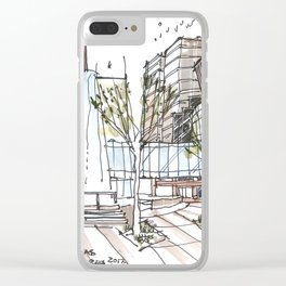 First Baptist Dallas Clear iPhone Case