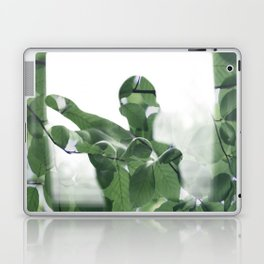 Hand in leaves Laptop & iPad Skin