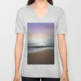Light Pastel Seascape Unisex V-Neck
